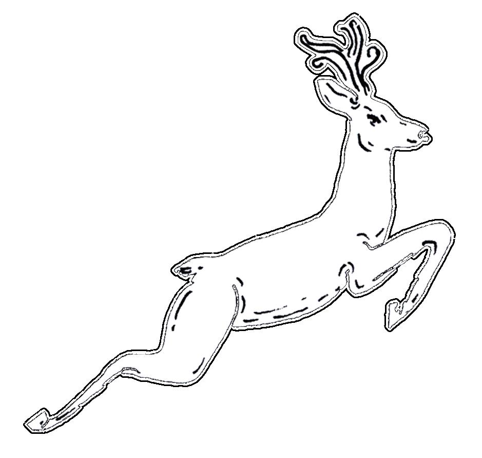 A cookie deer